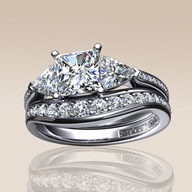 Exclusively designed engagement and wedding jewellery